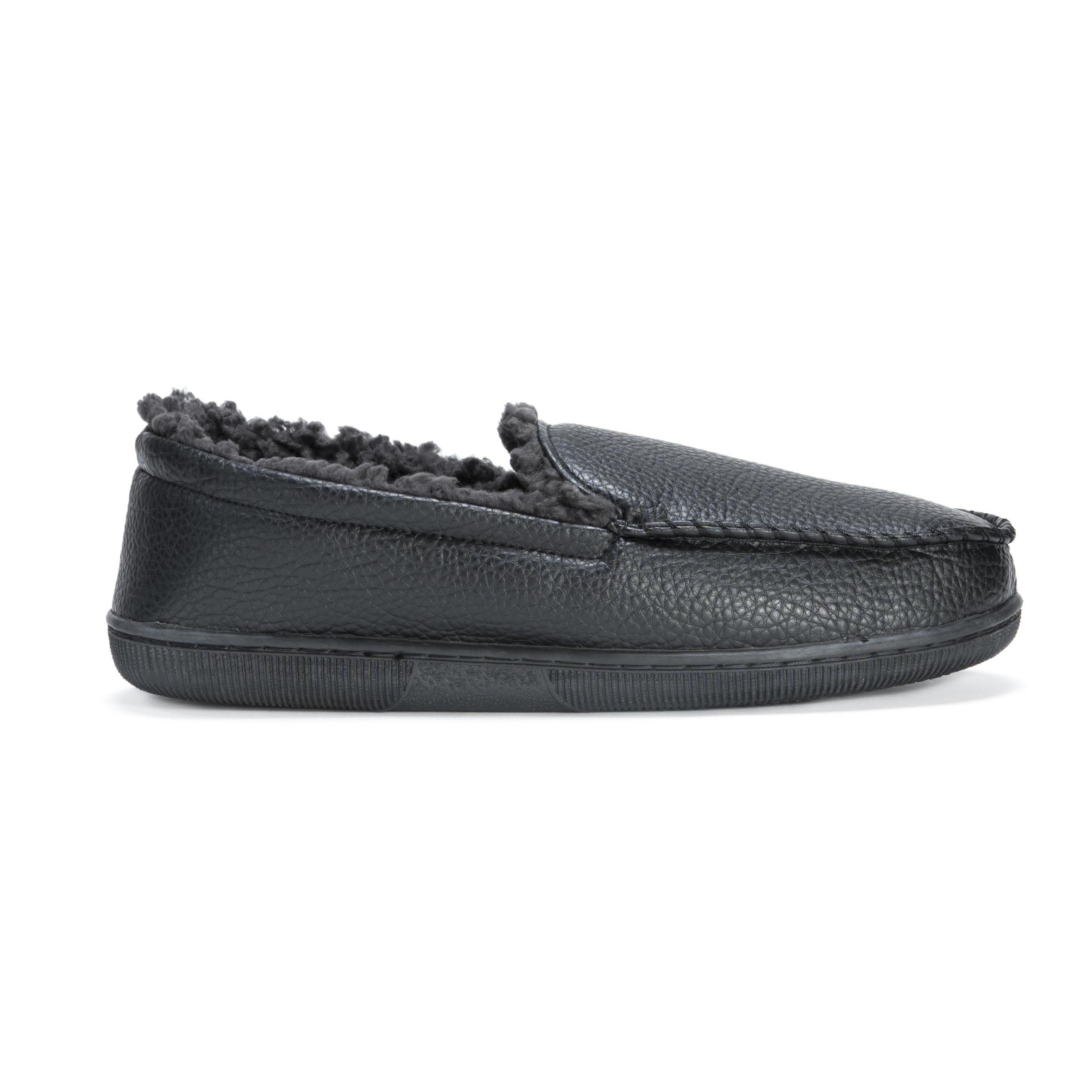 d23787d610b1 Men s Moccasin Slipper – Black