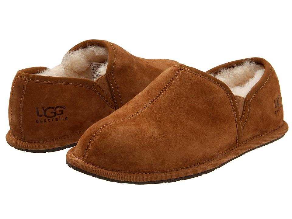 e21f190685aaa UGG – Scuff Romeo II (Espresso) Men's Slippers | Slippers.com - Shop ...