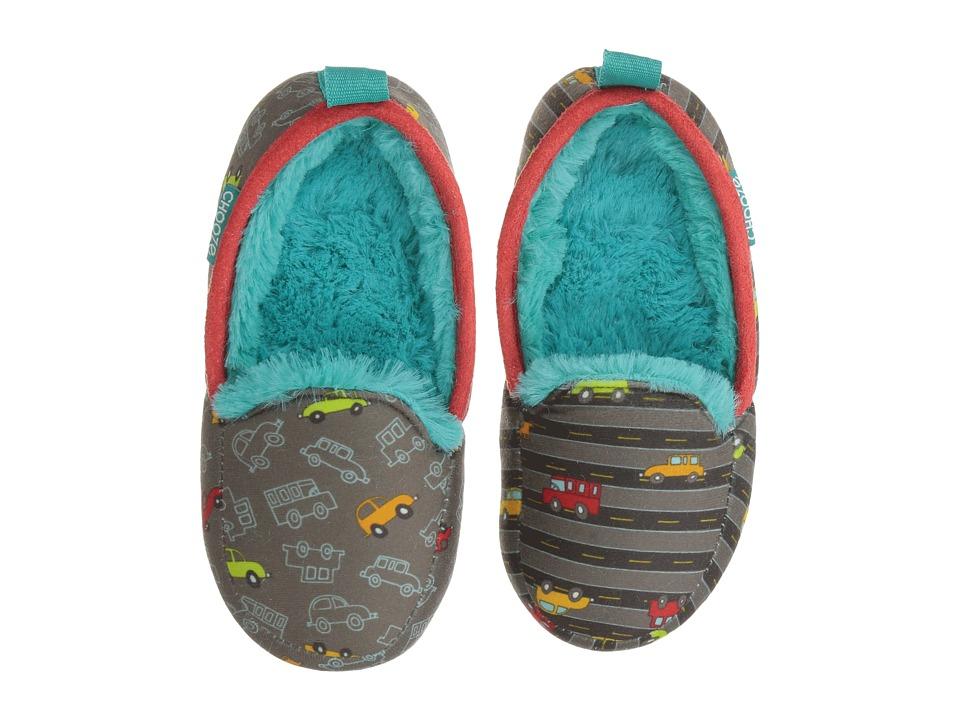 f0a2a42adb7a0d CHOOZE – Slumber Slippers (Toddler Little Kid Big Kid) (Beep Beep) Boy s  Shoes