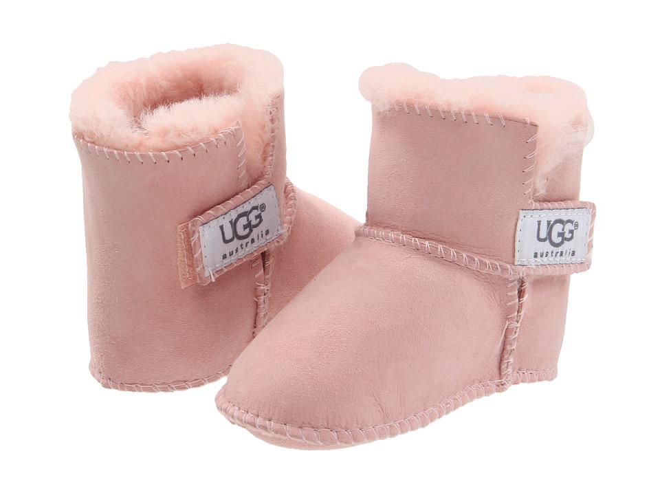 45e2dc45d4c UGG Kids Erin (Infant/Toddler) (Baby Pink) Girls Shoes | Slippers.com -  Shop Comfy