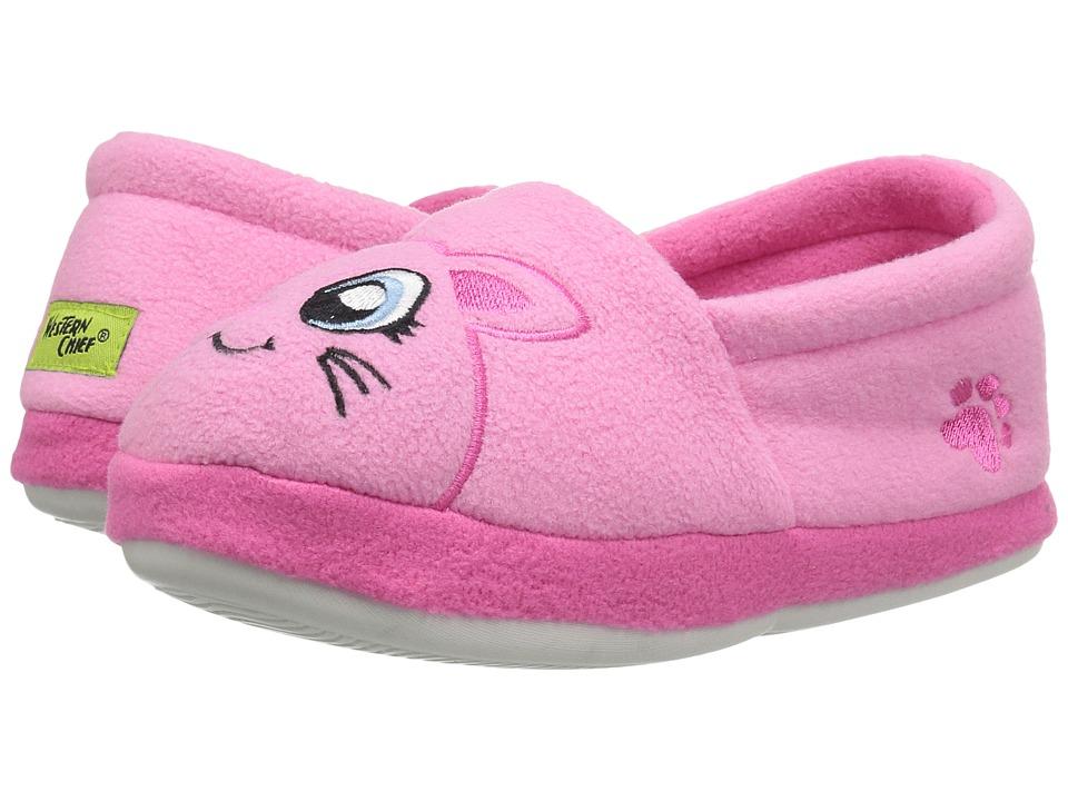Pink Kitty Slippers (Toddler/Little Kid