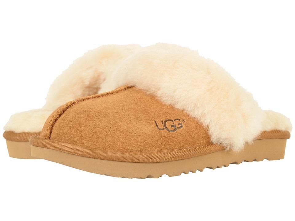196f20a1551 UGG Kids - Cozy II (Toddler/Little Kid/Big Kid) (Chestnut) Girls Shoes