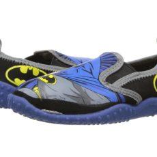 Favorite Characters - Batmantm Slip-On (Toddler/Little Kid) (Black) Boys Shoes