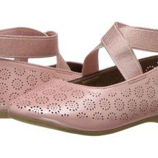 Jessica Simpson Kids - Mattie (Toddler) (Blush Patent) Girl's Shoes