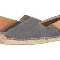 Soludos - Convertible Original (Dark Gray/Beige) Men's Slippers