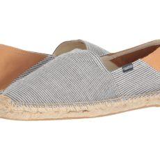 Soludos - Fine Stripe Convertible Original (Dark Navy/White) Men's Slippers