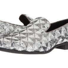 Stacy Adams - Swank (Silver) Men's Shoes