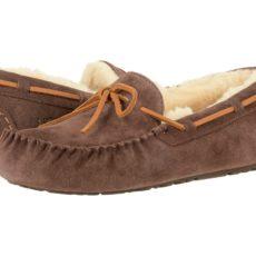 UGG Olsen (Espresso Suede) Men's Slip on Shoes