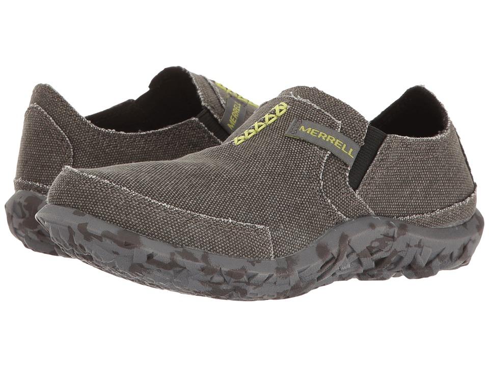 f0ae01a6 Merrell Kids Slipper (Toddler/Little Kid/Big Kid) (Charcoal) Boys Shoes