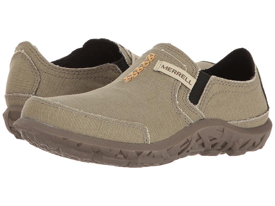 026fa20e Merrell Kids Slipper (Toddler/Little Kid/Big Kid) (Sand) Boys Shoes