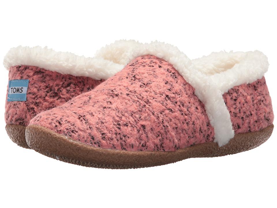cf8812065cf TOMS House Slipper (Faded Rose Woolen) Women s Slippers