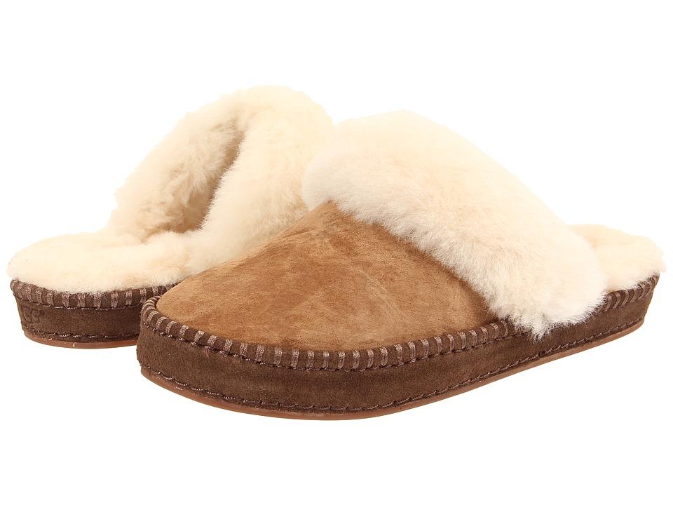 UGG Aira (Chestnut Suede) Women's Slip