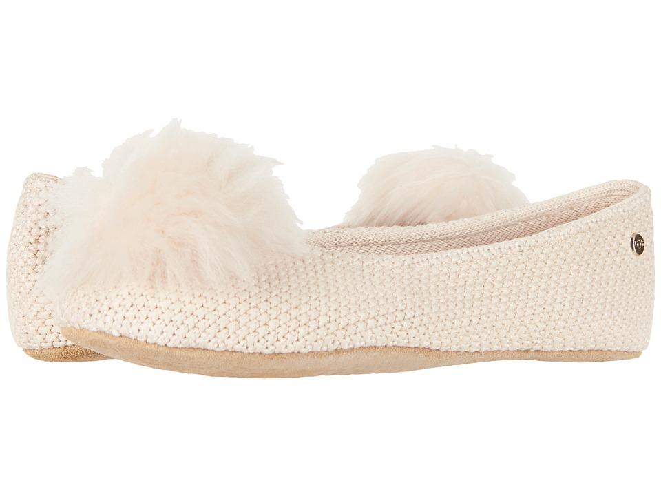 e08cac96119 UGG Andi (Cream) Women s Flat Shoes