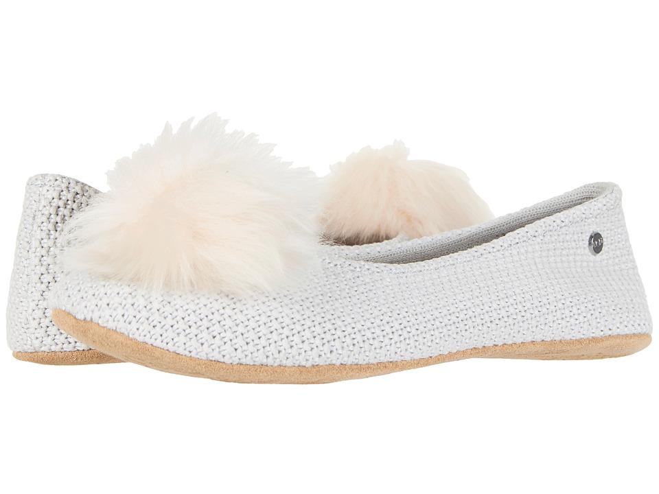Ugg Andi Grey Violet Women S Flat Shoes Slippers Com