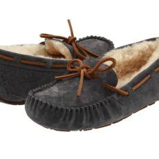 UGG Dakota (Pewter Suede) Women's Moccasin Shoes