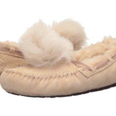 UGG Dakota Pom Pom (Cream) Women's Flat Shoes