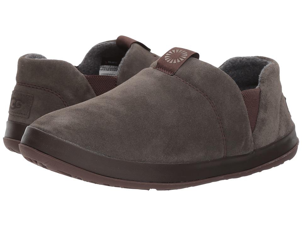 fc5df8ea6c5 UGG Hanz (Black/Olive) Men's Slippers