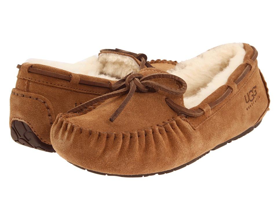 a53b0f78825 UGG Kids Dakota (Toddler/Little Kid/Big Kid) (Chestnut) Kids Shoes