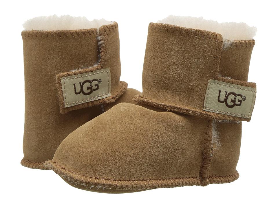916eb61c3 UGG Kids Erin (Infant/Toddler) (Chestnut) Girls Shoes | Slippers.com ...