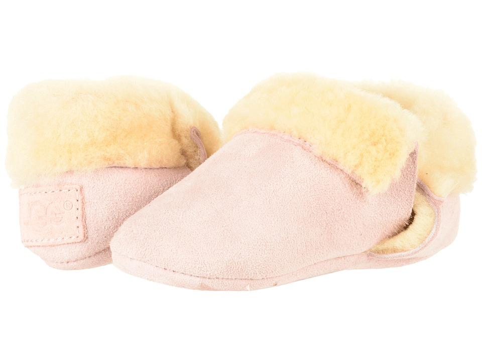 57a008f2f6b UGG Kids Solvi (Infant Toddler) (Baby Pink) Girl s Shoes