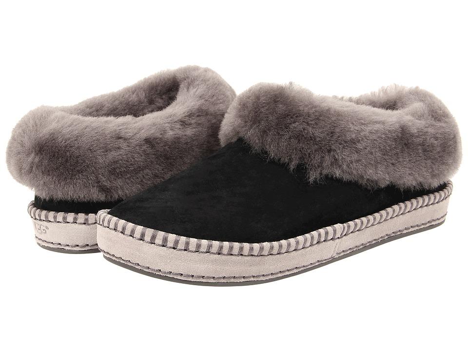 0ec9d282bf4 UGG Wrin (Black Suede) Women s Slip on Shoes