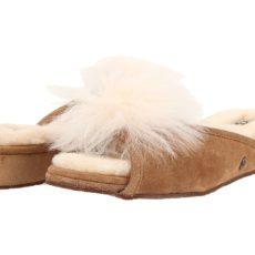 UGG Yvett (Chestnut) Women's Slippers