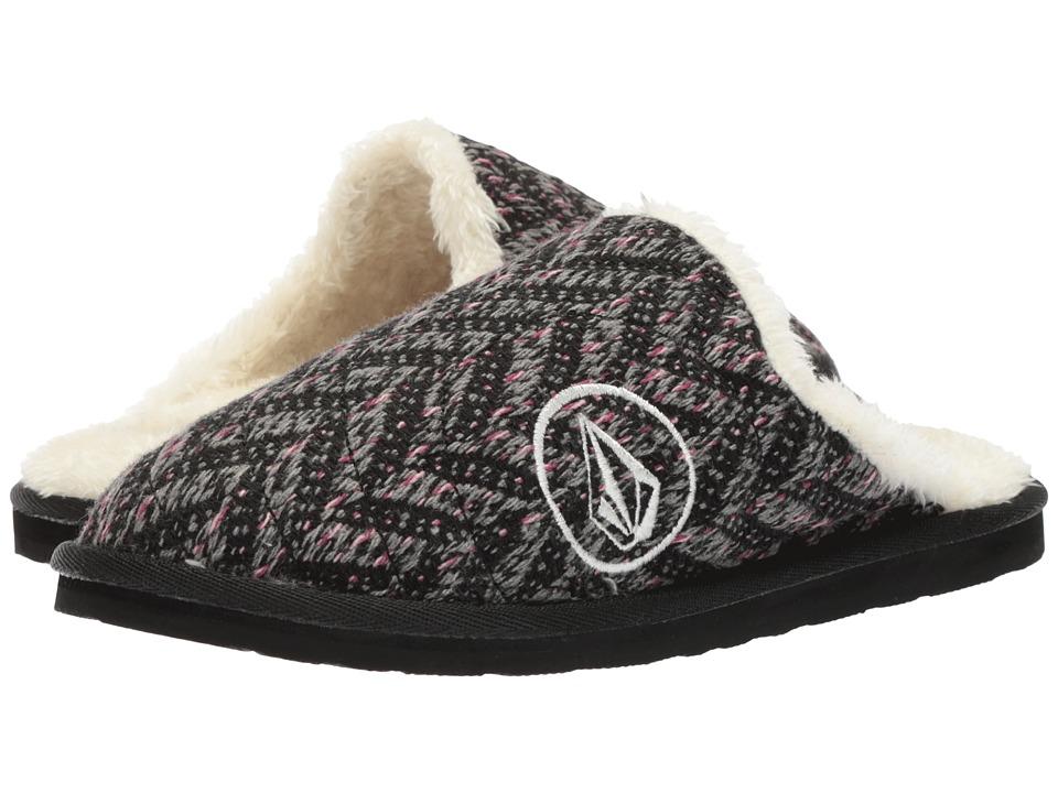 b98e5a73c2e Volcom Slacker 2 Slipper (Black Combo) Women s Shoes