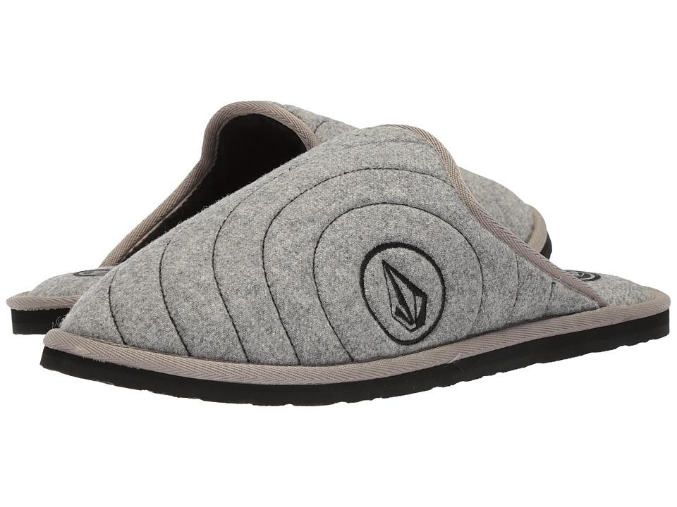 e54193257ad Volcom Slacker 2 Slipper (Grey) Men s Shoes