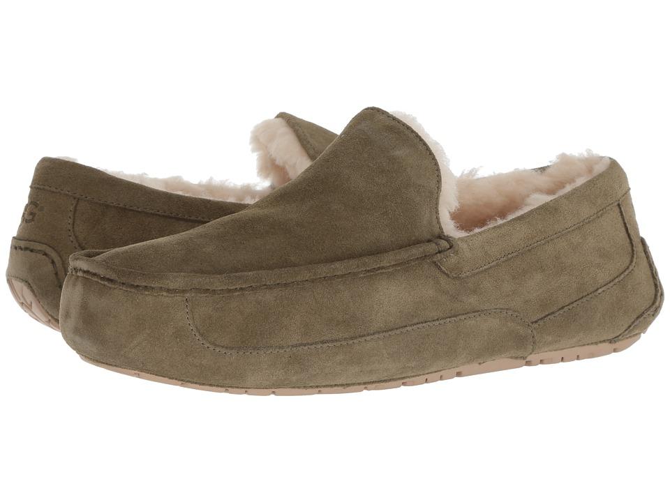 6a6fc38a2f6 UGG Ascot (Moss Green) Men's Slippers