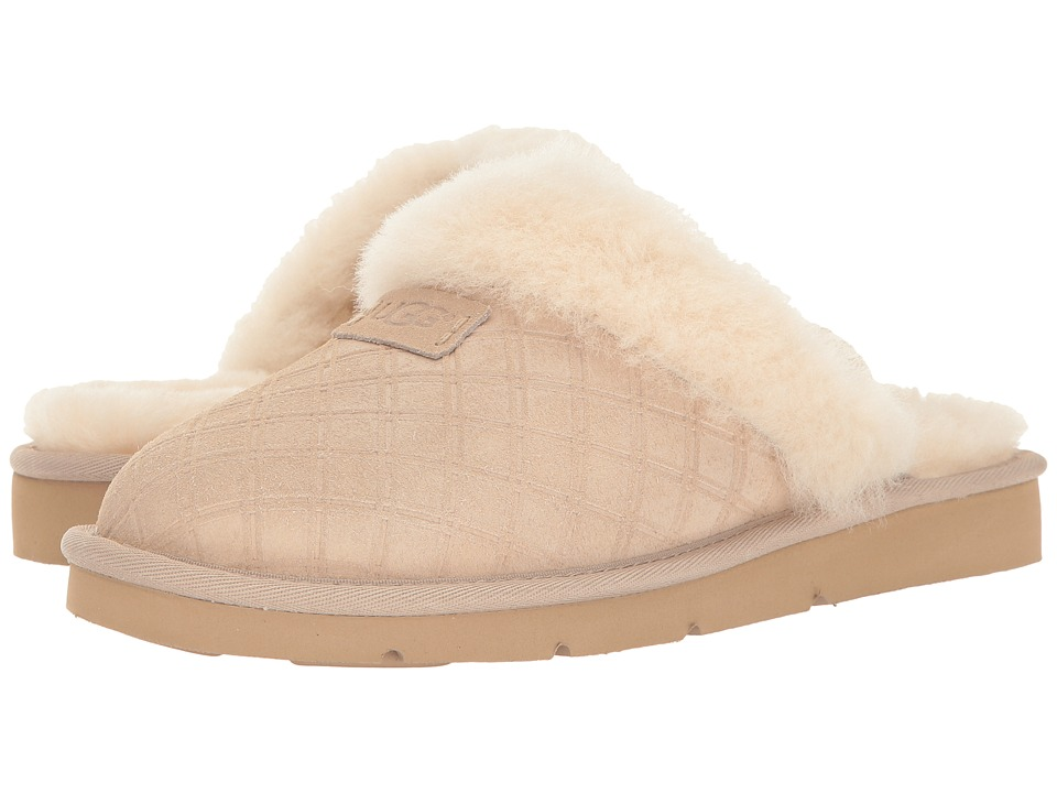 5a1c808c1d5 UGG Cozy Double Diamond Holiday Gift Box (Freshwater Pearl) Women's Slippers
