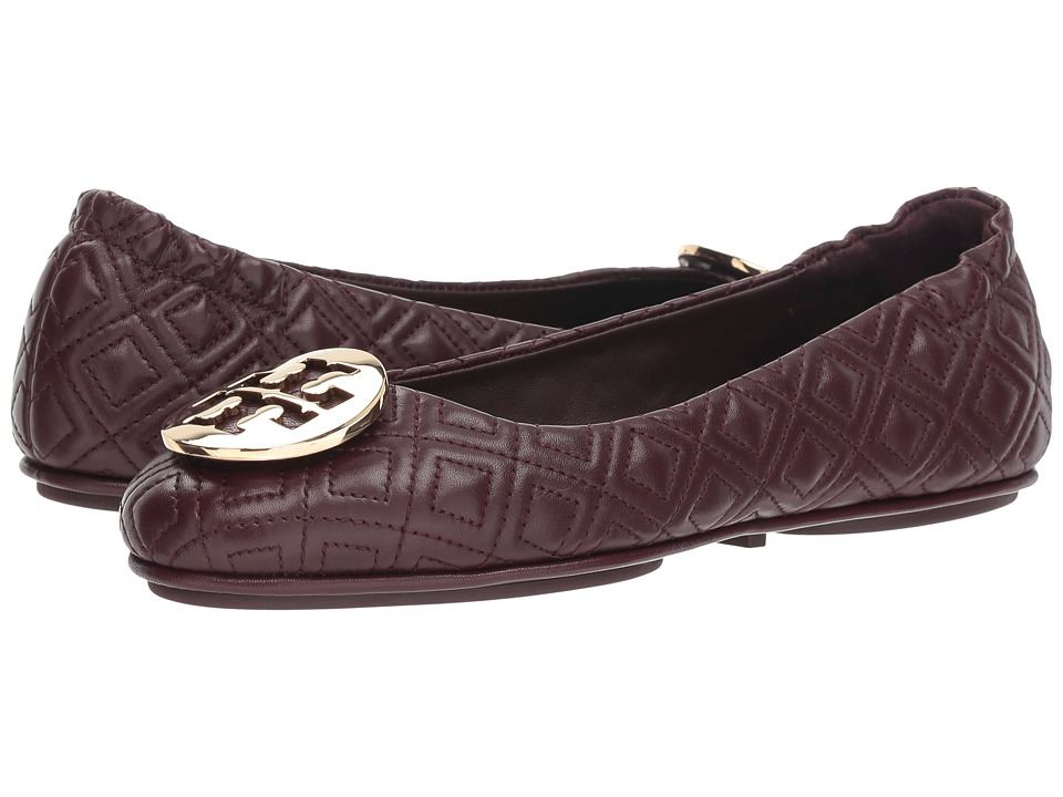 8bafbc101bab Tory Burch Quilted Minnie (Malbec Gold) Women s Shoes