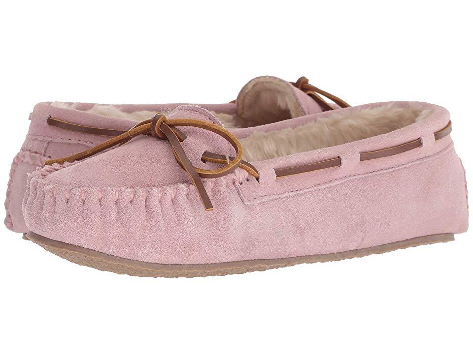 da0203387687c Minnetonka Cally Slipper (Pink Blush) Women's Moccasin Shoes