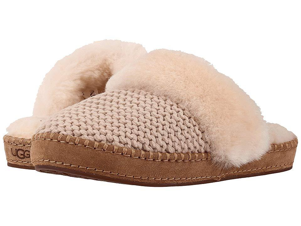9542dac7098 UGG Aira Knit (Cream) Women's Slippers