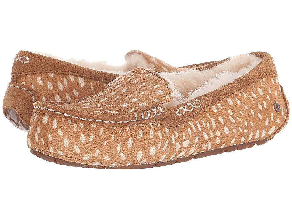 82e19944fbf UGG Ansley Idyllwild Slipper (Chestnut) Women s Slippers