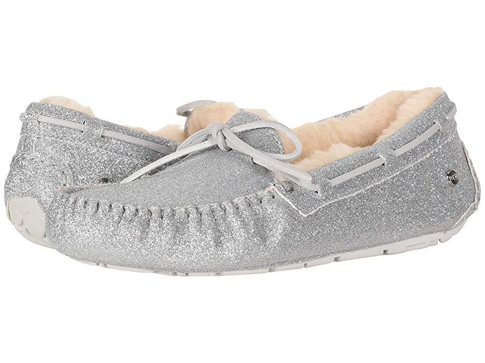 88dad31896b0 UGG Dakota Sparkle Slipper (Silver) Women s Slippers