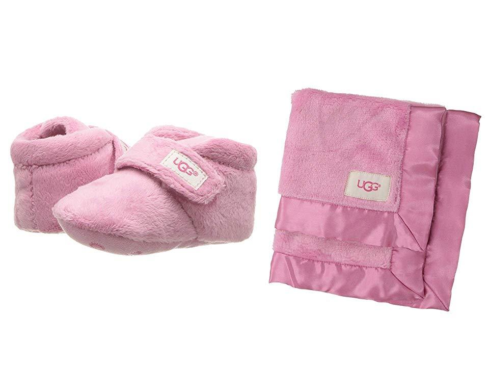 941a9c07196 UGG Kids Bixbee and Lovey (Infant/Toddler) (Bubblegum) Girls Shoes