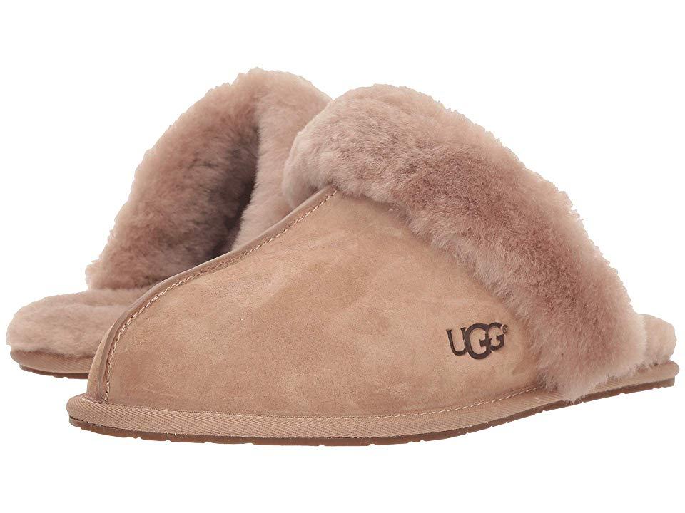 8feb6a7ab08 UGG Scuffette II Water-Resistant Slipper (Fawn) Women's Slippers