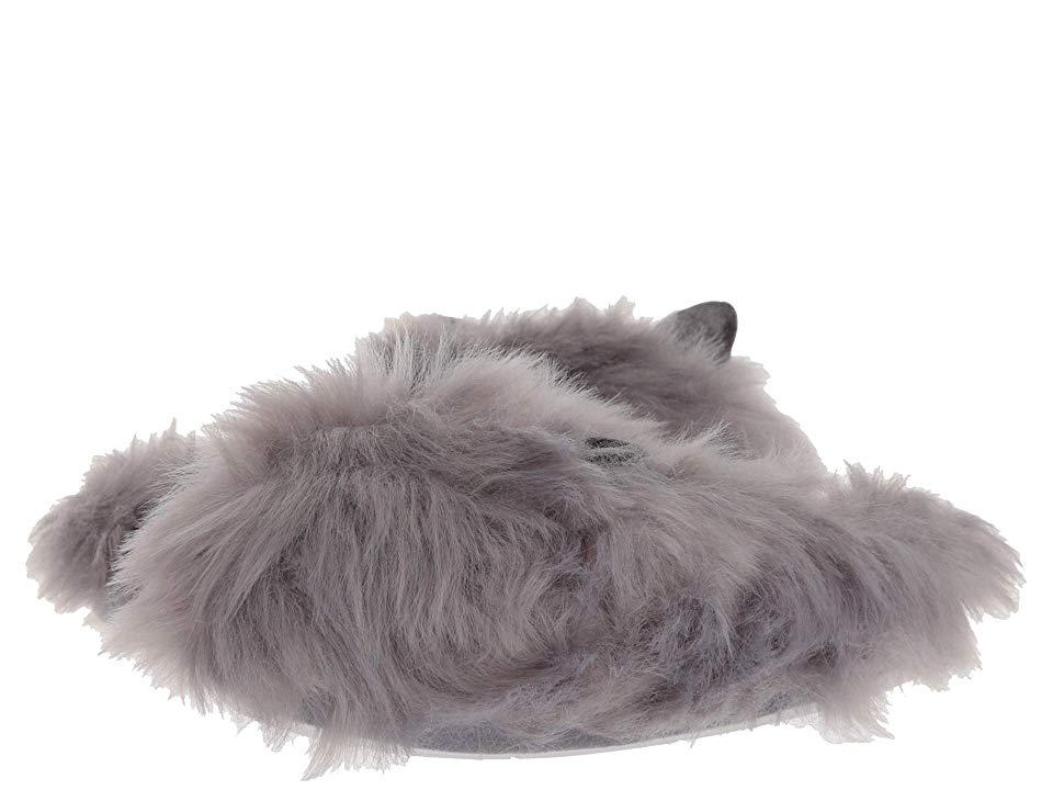 9c0b284da1d Steve Madden Furry (Grey Fabric) Women s Slippers