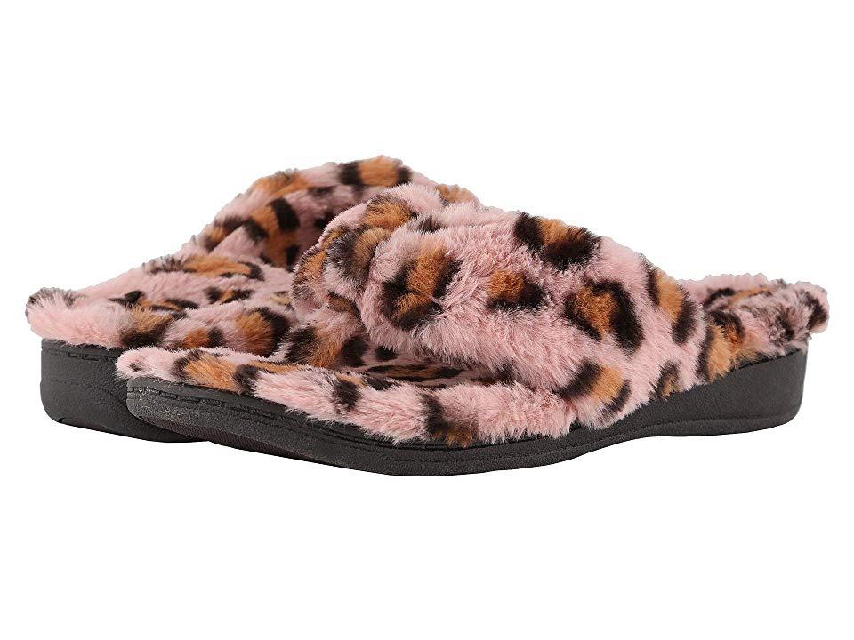 e3f4561d86e2 VIONIC Gracie Leopard (Pink Leopard) Women s Slippers