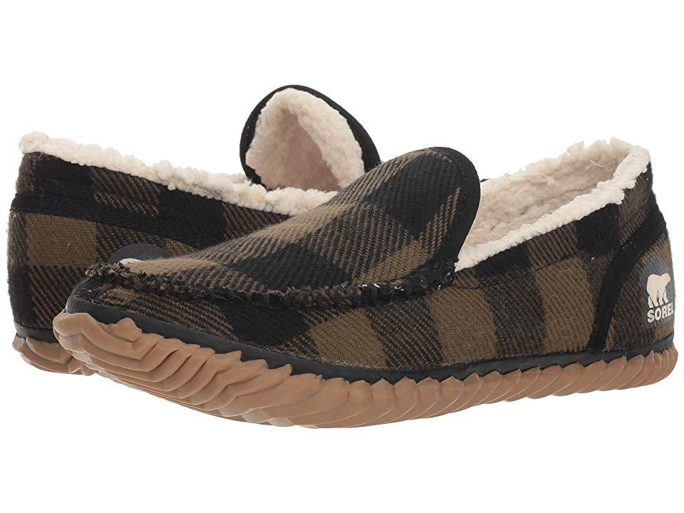 ddca48d7c90 SOREL Sorel Dude Moctm (Black Textile Tartan) Men s Slippers ...