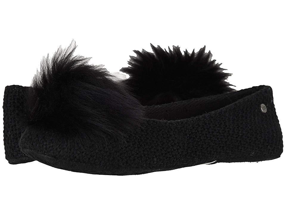 40af755f3d3 UGG Andi (Black) Women's Flat Shoes