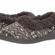 MUK LUKS Brinley (Dark Grey) Women's Slippers