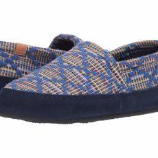 Acorn Acorn Moc Summerweight (Navy Blue Diamond) Women's Slippers