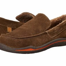 Acorn Ellsworth Suede Moc (Smokey Taupe) Men's Slippers