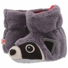 Acorn Kids Easy Critter Moc (Infant/Toddler) (Grey Raccoon) Kids Shoes