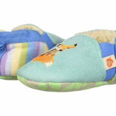 Acorn Kids Easy On Moc - Tots (Infant) (Teal Fox) Girls Shoes