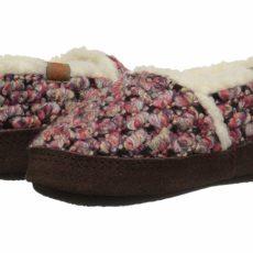 Acorn Kids L'il Jam Moc (Toddler/Little Kid/Big Kid) (Rasberry) Girls Shoes