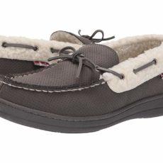 Ben Sherman Jeffery Slipper (Grey Perf) Men's Shoes