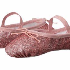Bloch Kids Glitter Dust Ballet Slipper (Toddler/Little Kid) (Rose) Girl's Shoes