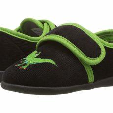 Foamtreads Kids T-Rex (Toddler/Little Kid) (Black) Boy's Shoes